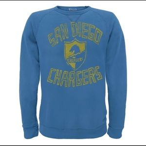 Junk food San Diego Chargers Crewneck Sweatshirt